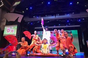 《红尘情歌》正版原唱蒋姗倍受邀出席2018唱响一带一路第三届世界华人公益春晚暨全球首届环保歌曲大赛