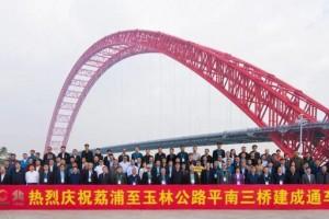 世界最大跨径拱桥——平南三桥再获中央电视台《新闻联播》报道,平南三桥再成焦点!