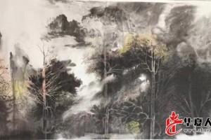 冰雪林中著此身  不同桃李混芳尘——中国水墨画家董廷新专访